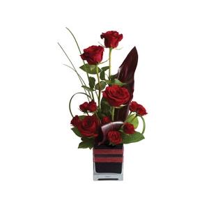 Rose Romance Modern Arrangement